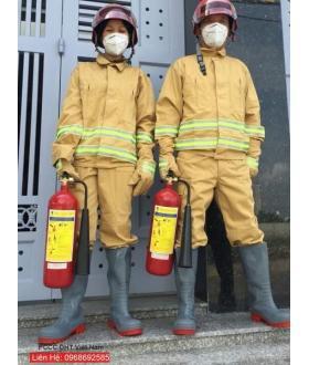 Quần áo chữa cháy thông tư 48 tại Hà Nam dành cho người cứu hộ