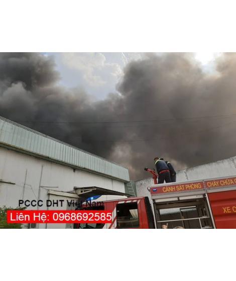Bình chữa cháy, thiết bị chữa cháy tại cụm khu công nghiệp QUÁN GỎI