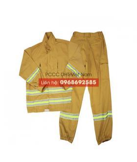 Bộ đồ phòng cháy chữa cháy cơ sở tại Bắc Giang
