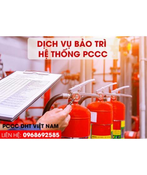 Dịch vụ bảo trì bảo dưỡng hệ thống phòng cháy chữa cháy tại cụm công nghiệp Thị Trấn Ninh Giang