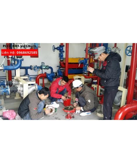 Dịch vụ bảo trì bảo dưỡng hệ thống phòng cháy chữa cháy tại Cụm công nghiệp Mai Đình