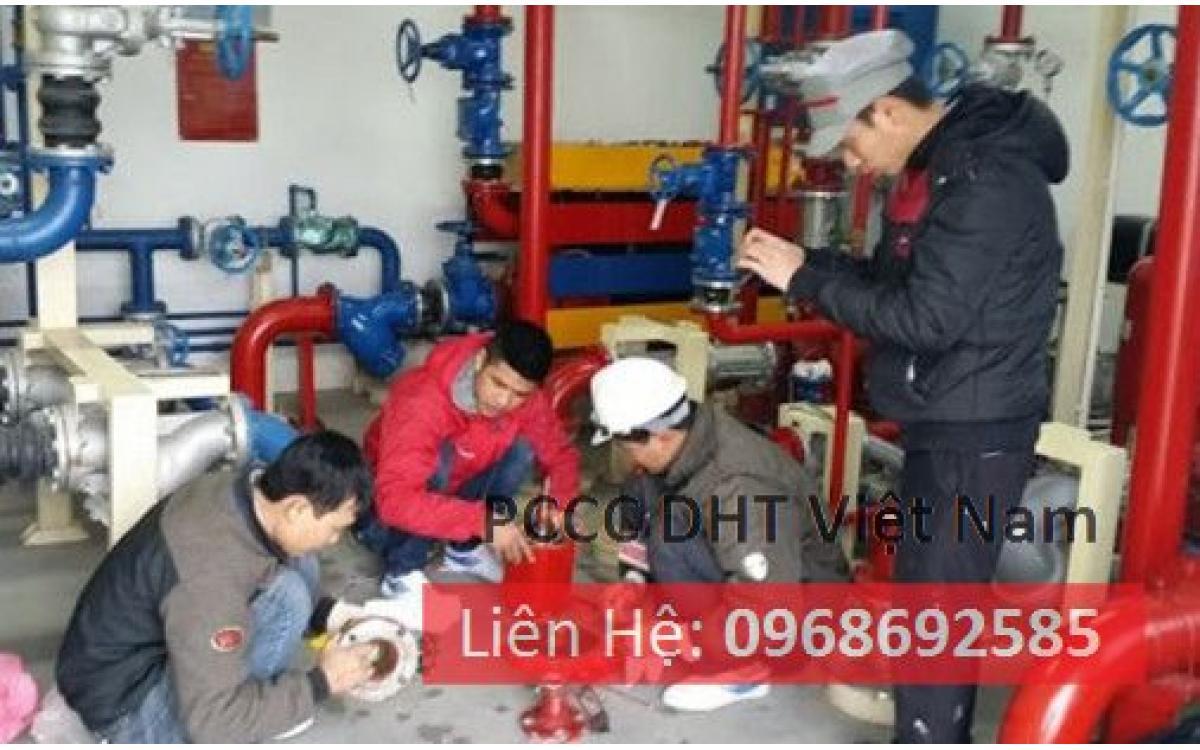 Dịch vụ bảo trì bảo dưỡng hệ thống phòng cháy chữa cháy tại khu công nghiệp Minh Khai - Vĩnh Tuy