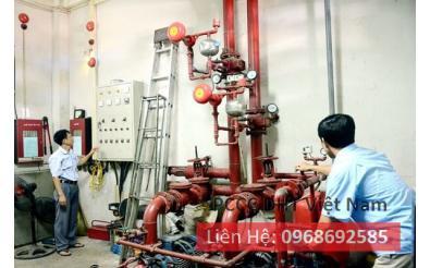 Dịch vụ bảo trì bảo dưỡng hệ thống phòng cháy chữa cháy chất lượng tại Khu công nghệ Láng Hòa Lạc