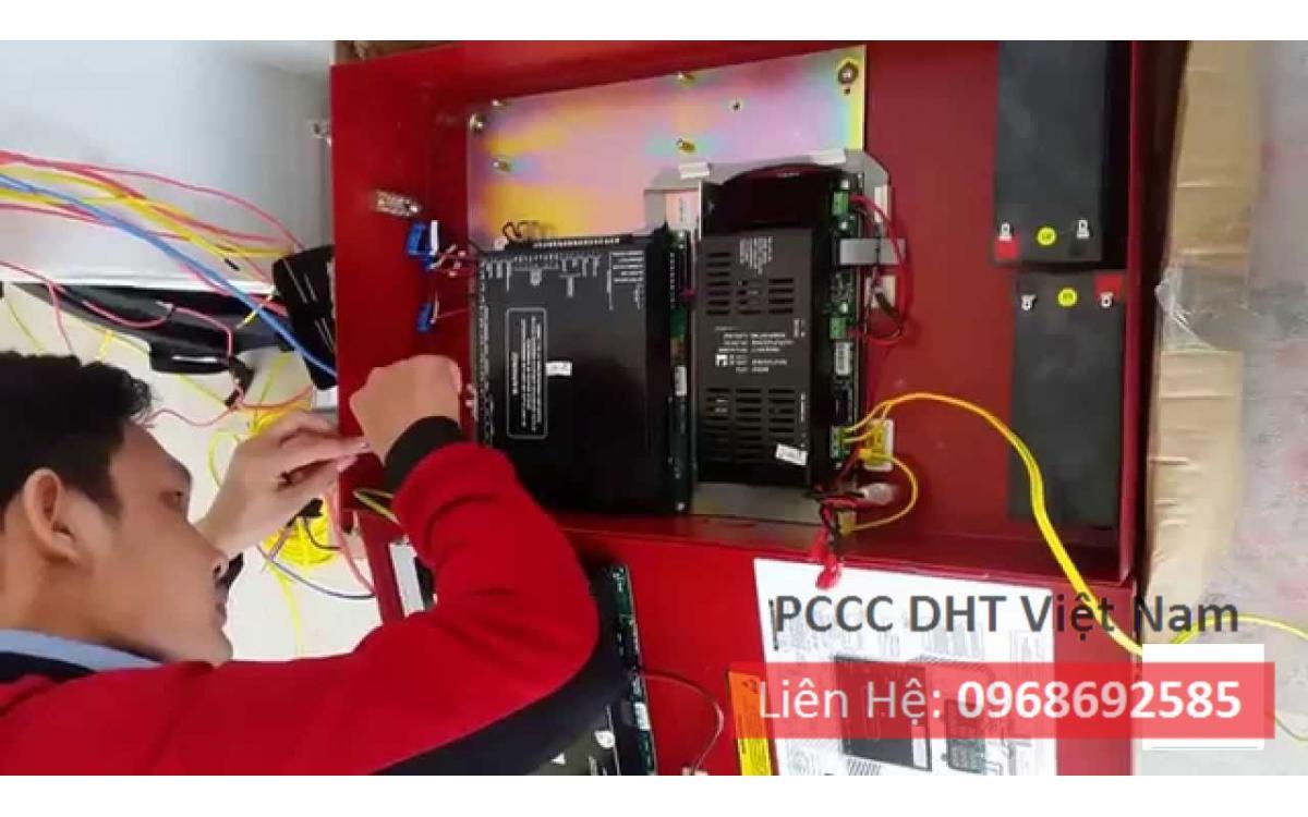 Dịch vụ bảo trì bảo dưỡng hệ thống phòng cháy chữa cháy tại Khu công nghiệp Nội Bài