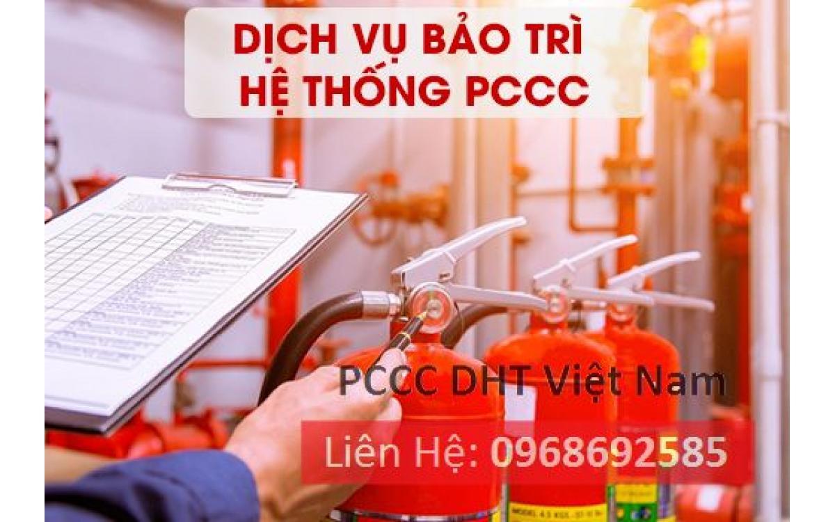 Dịch vụ bảo trì bảo dưỡng hệ thống phòng cháy chữa cháy tại Khu công nghiệp Thuận Thành 2