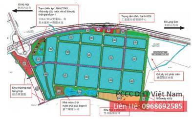 Dịch vụ bảo trì bảo dưỡng hệ thống phòng cháy chữa cháy tại KCN Vân Trung