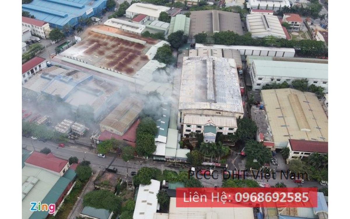 Dịch vụ bảo trì bảo dưỡng hệ thống phòng cháy chữa cháy tại Cụm công nghiệp Phú Thị