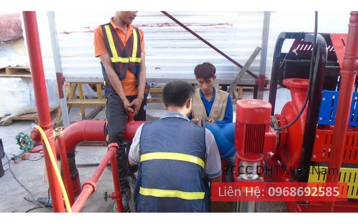 Dịch vụ bảo trì bảo dưỡng hệ thống phòng cháy chữa cháy tại Cụm công nghiệp Dệt may Nguyên Khê