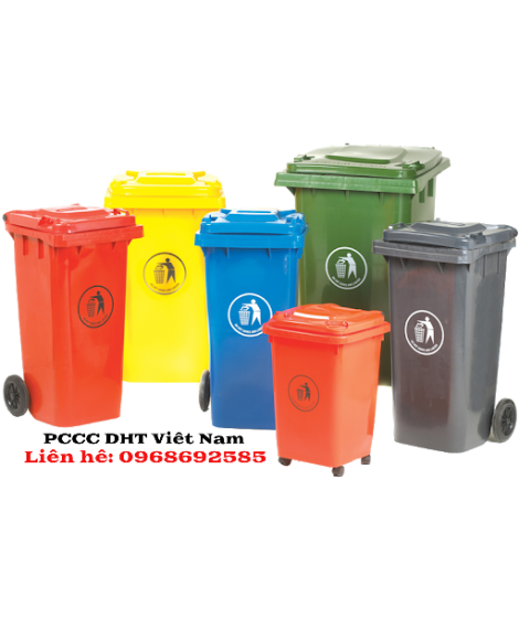 Cung cấp thùng rác công nghiệp tại Khu Công nghệ cao Láng Hòa Lạc