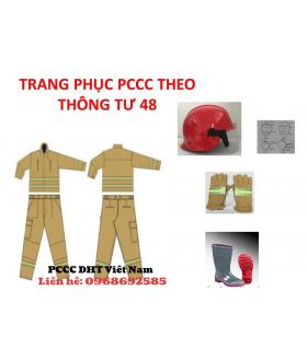 Quần áo chữa cháy thông tư 48 tại Thái Nguyên