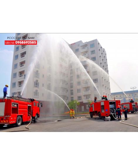 Thùng phuy đựng cát chữa cháy tại Thái Nguyên