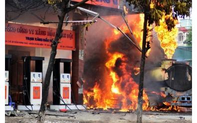 Biện pháp Phòng cháy cây xăng và an toàn cháy nổ trong kinh doanh xăng dầu