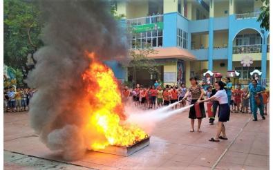 Biện pháp đảm bảo an toàn phòng chống cháy nổ trong trường học