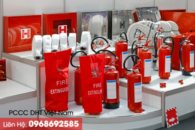 PCCC DHT Việt Nam chuyên cung cấp các thiết bị chữa cháy