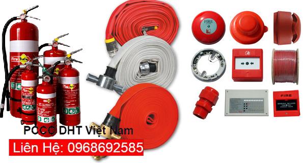 Thiết bị chữa cháy của PCCC DHT Việt Nam tại cụm công nghiệp Thanh Oai