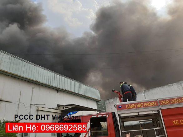 Thiết bị chữa cháy tại cụm khu công nghiệp QUÁN GỎI