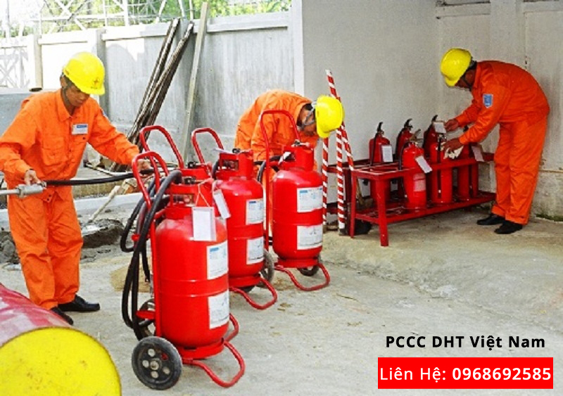 Bảo trì bảo dưỡng hệ thống phòng cháy chữa cháy