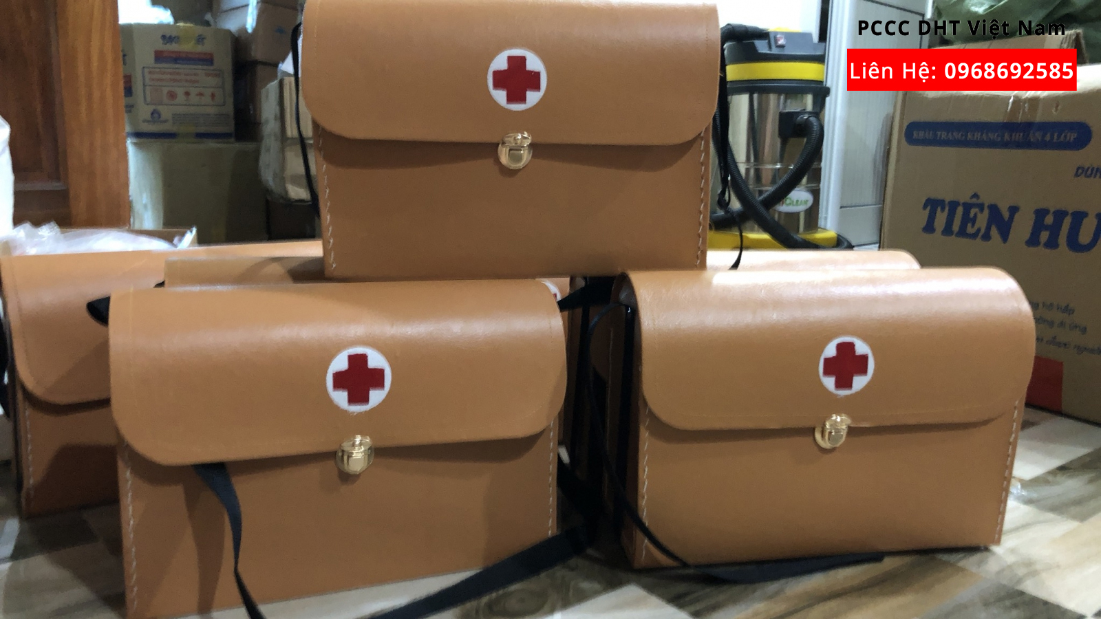 Túi cứu thương đạt chuẩn y tế