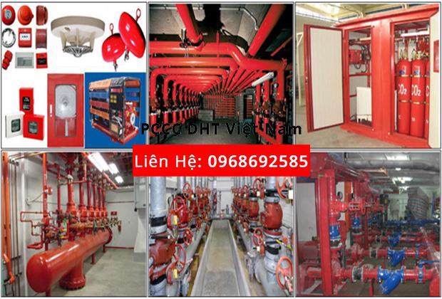 Bảo dưỡng hệ thống phòng cháy chữa cháy