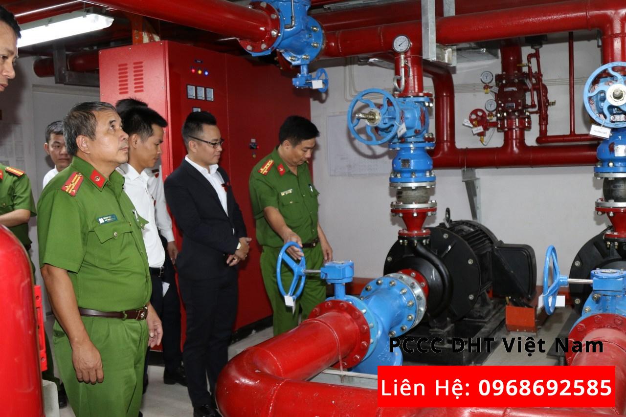 Kiểm tra bảo trì bảo dưỡng hệ thống phòng cháy chữa cháy