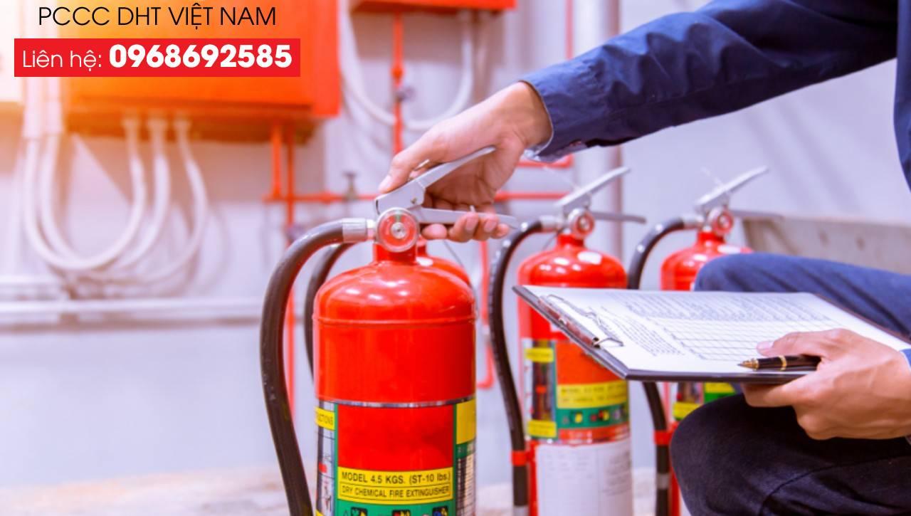 Bảo trì bảo dưỡng bình chữa cháy