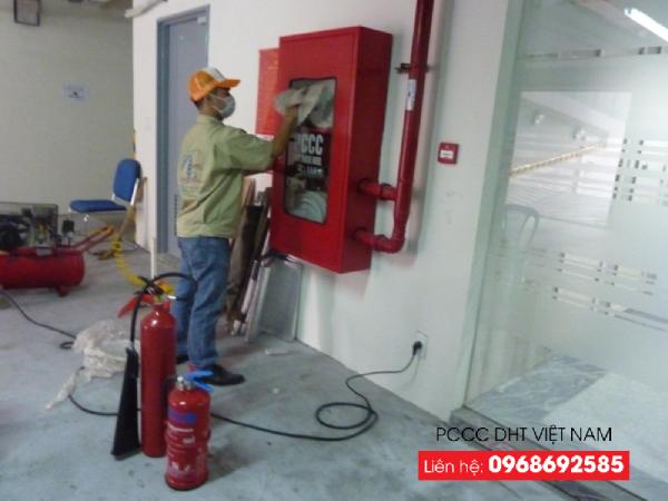 Bảo dưỡng hệ thống phòng cháy chữa cháy đúng quy định