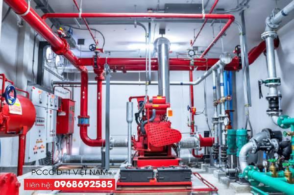 Dịch vụ bảo trì bảo dưỡng hệ thống phòng cháy chữa cháy tại Cụm công nghiệp Đại Xuyên cải tiến khả năng hoạt động của hệ thống