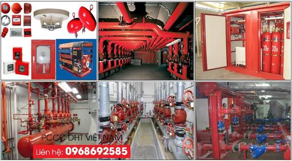 Dịch vụ bảo trì bảo dưỡng hệ thống phòng cháy chữa cháy tại Cụm công nghiệp Đại Xuyên