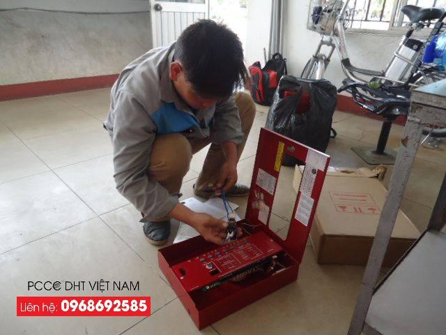 Kiểm tra hệ thống trung tâm báo cháy