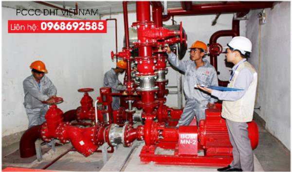 Bảo dưỡng thiết bị phòng cháy chữa cháy