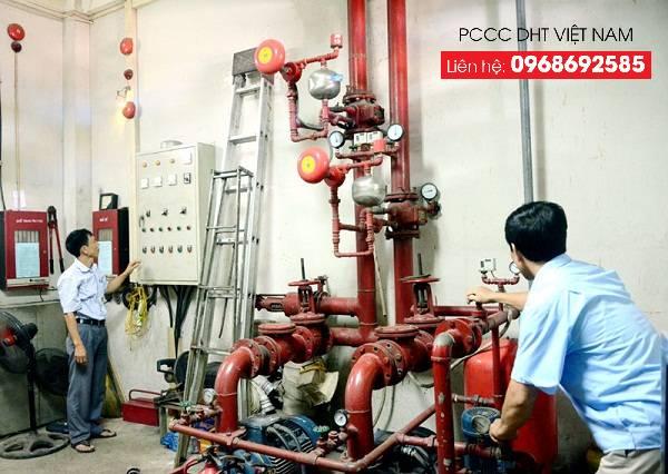 Bảo trì hệ thống phòng cháy nhà máy