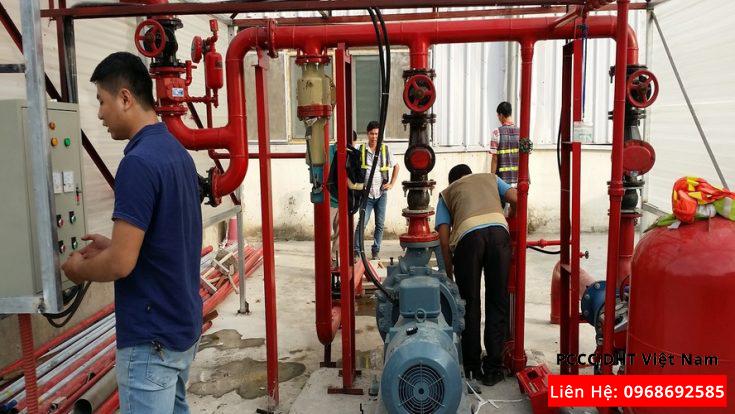 Dịch vụ bảo trì bảo dưỡng hệ thống phòng cháy chữa cháy tại Khu công nghiệp Yên Phong