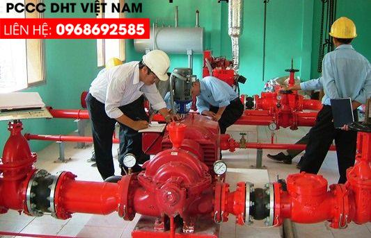 Đơn vị bảo trì bảo dưỡng hệ thống phòng cháy chữa cháy