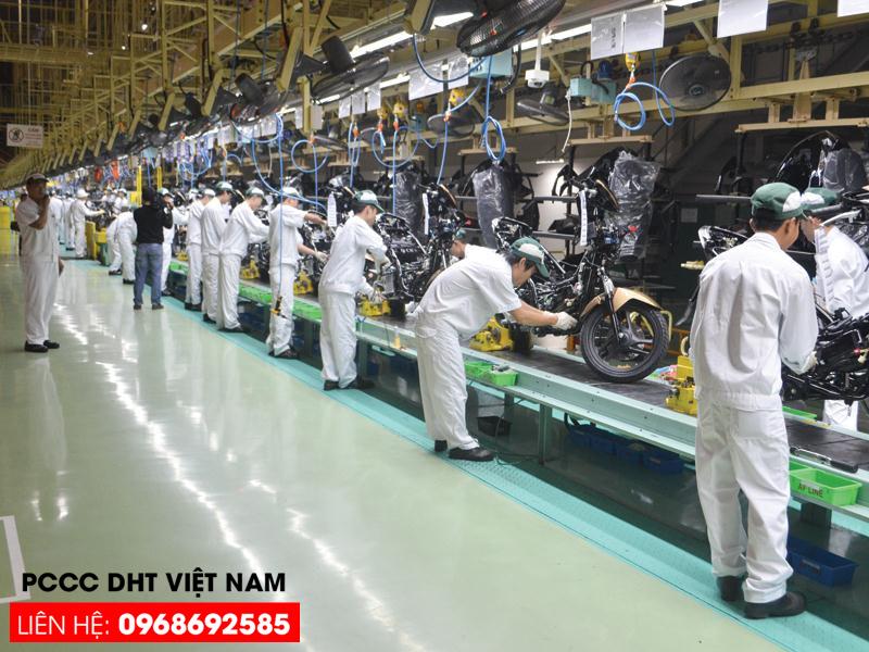 Dịch vụ bảo trì bảo dưỡng hệ thống phòng cháy chữa cháy tại khu công nghiệp Đồng Văn I
