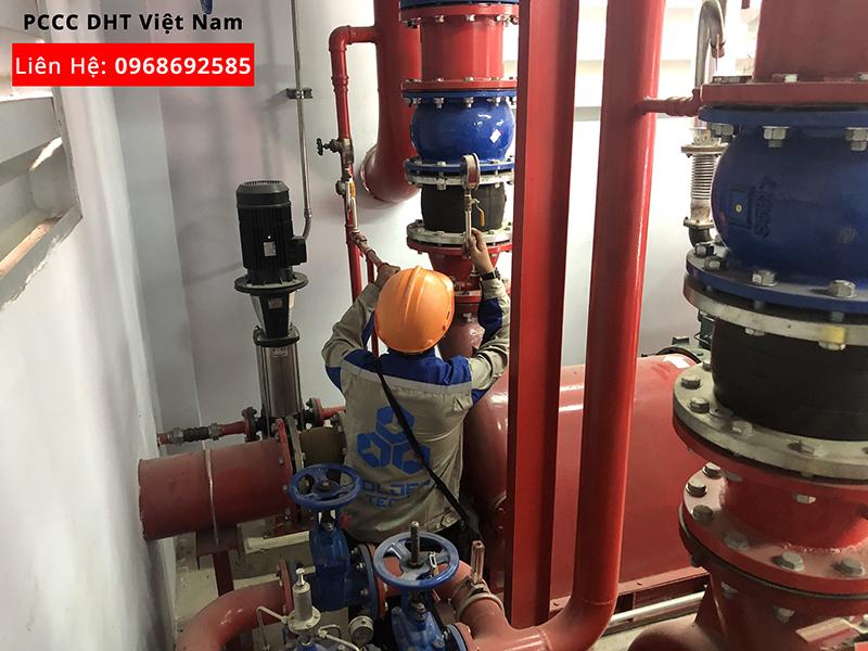 Dịch vụ bảo trì bảo dưỡng hệ thống phòng cháy chữa cháy Khu Công Nghiệp Cộng Hòa - Chí Linh