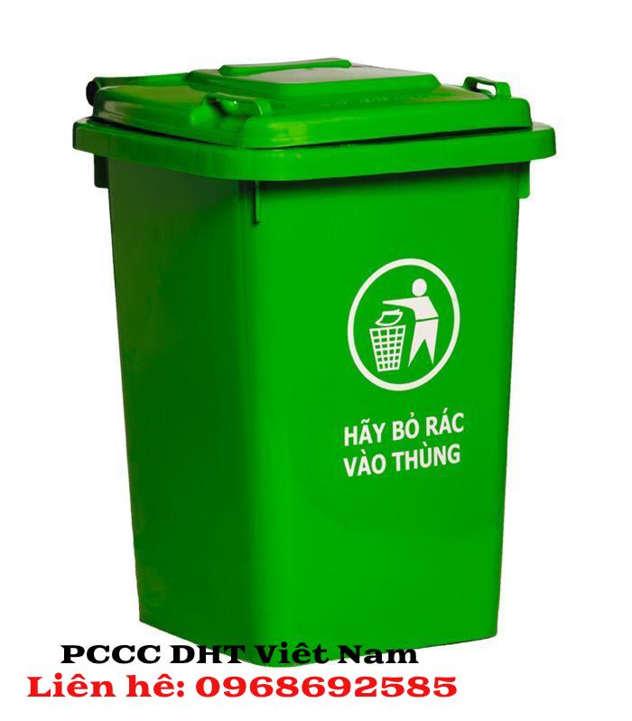 Thùng rác công nghiệp PCCC DHT Việt Nam chất lượng hàng đầu