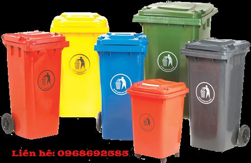 Một số loại thùng rác công nghiệp tại Khu Công nghệ cao Láng Hòa Lạc