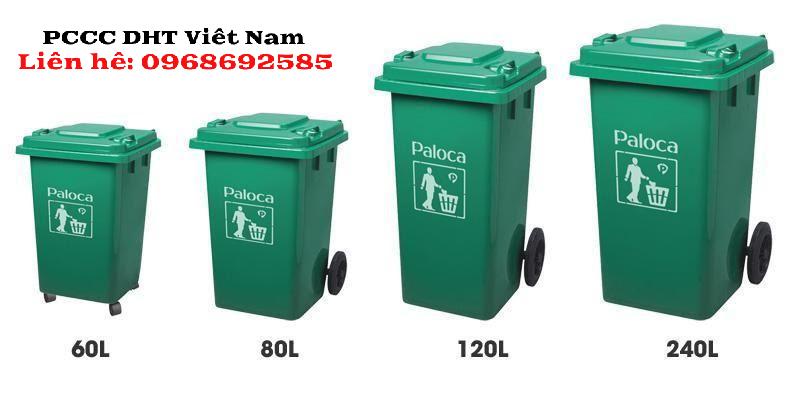 Thùng rác công nghiệp nhiều kích cỡ