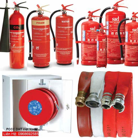 Các thiết bị chữa cháy sẽ giúp bạn cảm thấy an tâm và dễ dàng hơn trong việc xử lý các tình huống khẩn cấp