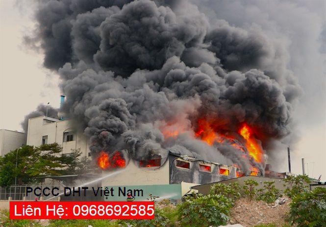 Cháy lớn tại các khu công nghiệp trong những năm gần đây