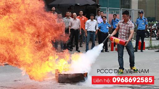 Bình chữa cháy CO2 dùng để dập những đám cháy mới phát sinh, những đám cháy không quá lớn