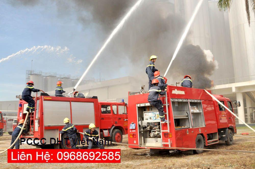 Công tác phòng cháy chữa cháy quy mô lớn, nhanh, gọn, chuẩn