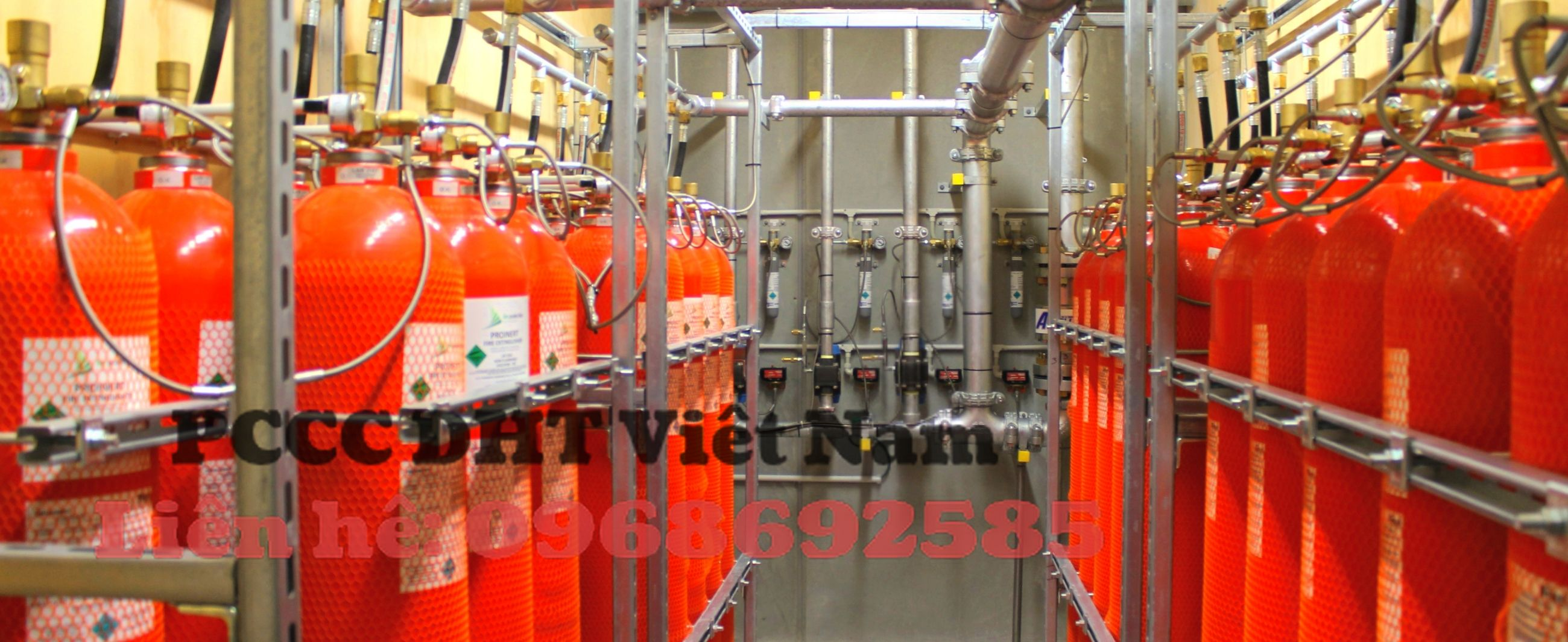 Bình chữa cháy chất lượng từ PCCC DHT Việt Nam