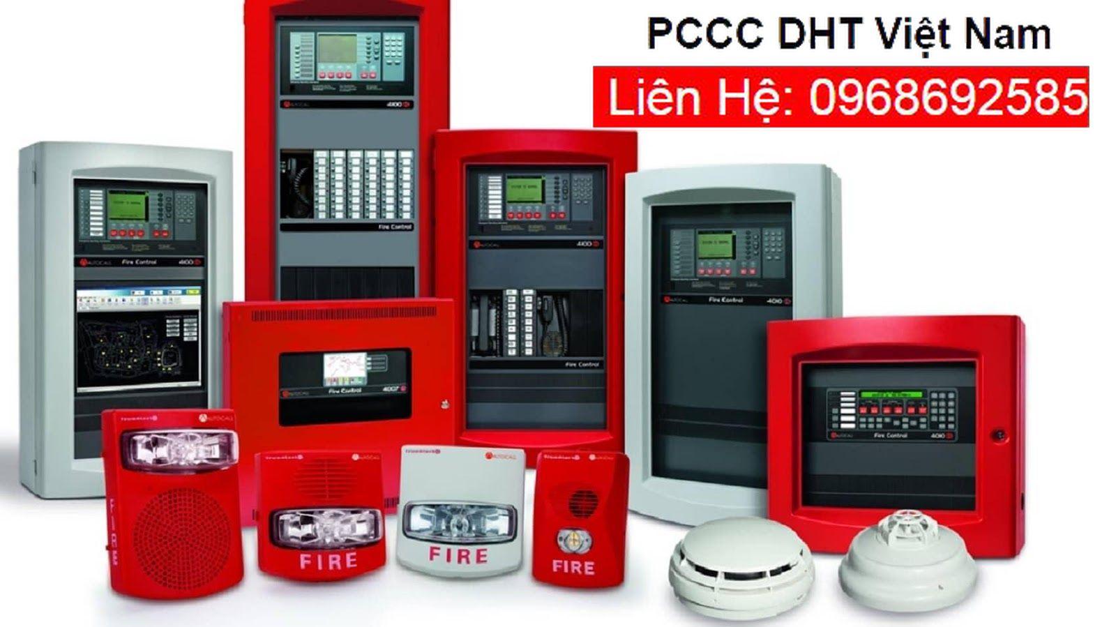 Thiết bị PCCC tại DHT Việt Nam