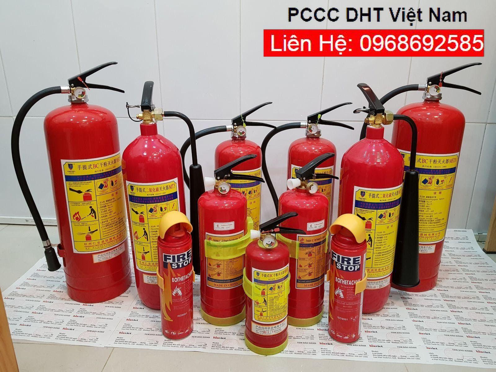 Thiết bị chữa cháy tại Cụm Công nghiệp Nam Tiến Xuân