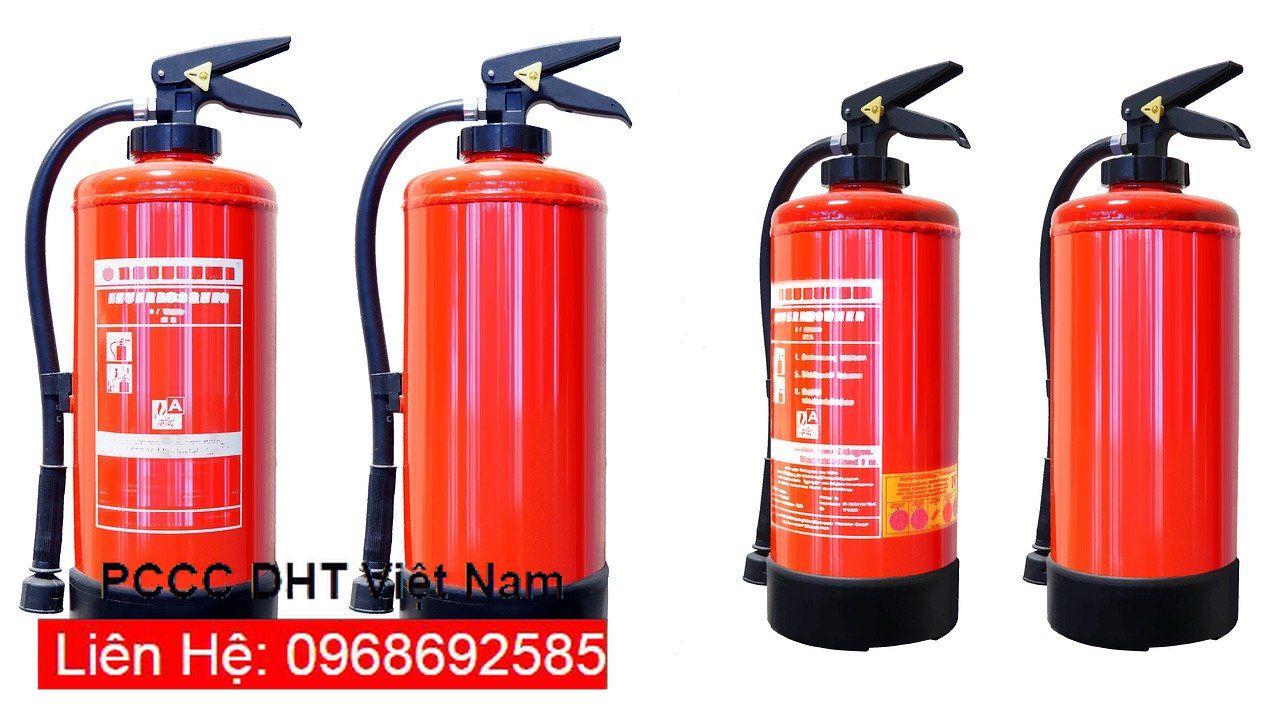 Bình chữa cháy các loại do PCCC DNT phân phối với số lượng lớn nhỏ tùy theo đơn hàng