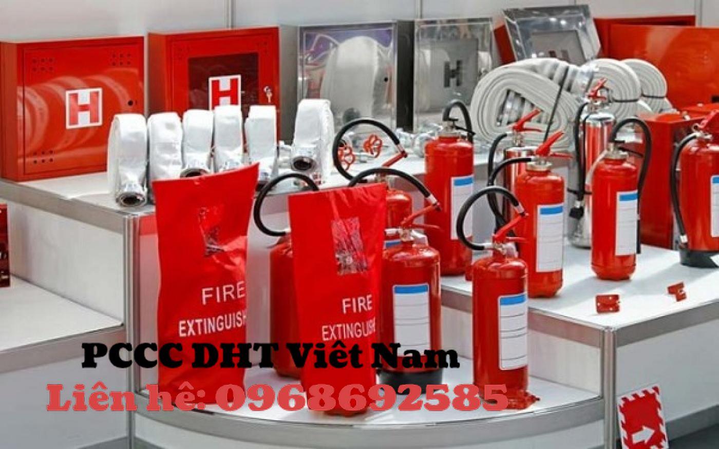 PCCC DHT Việt Nam phân phối các thiết bị chữa cháy cho khu công nghiệp.