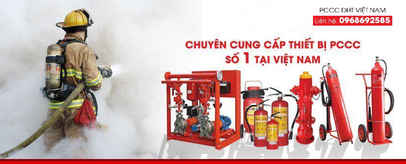 PCCC DHT Việt Nam chuyên cung cấp thiết bị phòng cháy chữa cháy
