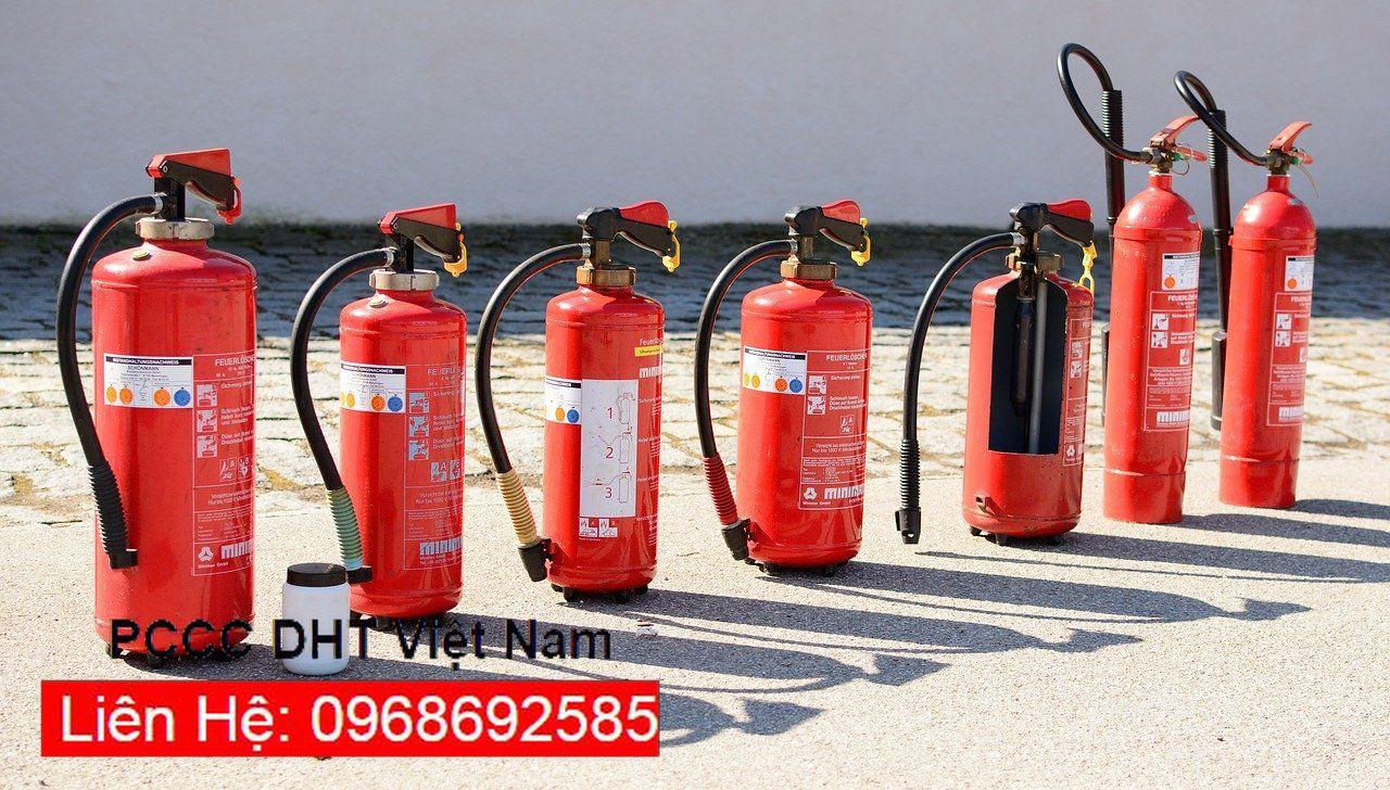 PCCC DNT có mọi loại bình chữa cháy từ A tới Z